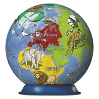 Ravensburger - Children's Globe Puzzleball 72pc