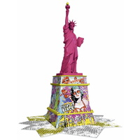 Ravensburger - Statue of Liberty 3D Puzzle Pop Art Edition 108pc