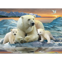 Ravensburger - Polar Bears Puzzle 200pc
