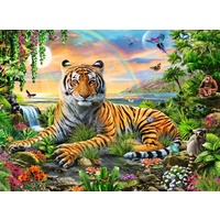 Ravensburger - Tiger at Sunset Puzzle 300pc