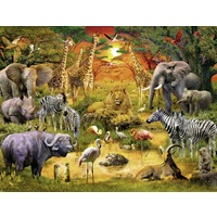 Ravensburger - Gathering at the Waterhole Puzzle 2000pc