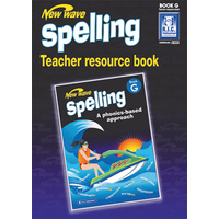 New Wave Spelling Teacher Resource Book G