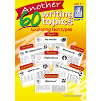 Another 60 Writing Topics Ages 5-7