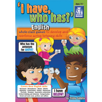 I have, who has?'  English Ages 11+