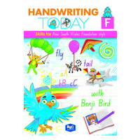 Handwriting Today NSW Foundation Font Student Workbook, Foundation