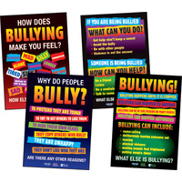 Bullying Posters (set of 4)