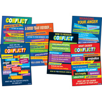 Conflict Resolution Charts (set of 6)
