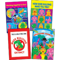 Dino-Might Bullying Posters (set of 4)