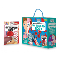 Sassi – Travel, Learn & Explore – The Human Body Puzzle + Book