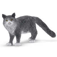 Schleich - Maine Coon Cat 13893