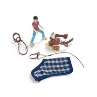 Schleich - Pony Riding Set Camping 42093