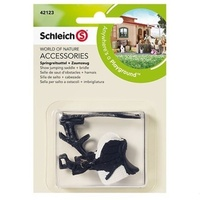 Schleich - Show Jumping Saddle + Bridle 42123