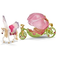Schleich - Elf Carriage Festive 42176