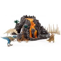 Schleich - Giant Volcano with T-Rex 42305