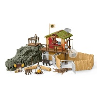 Schleich - Croco Jungle Research Station 42350