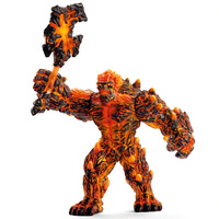 Schleich - Lava Golem with Weapon 42447