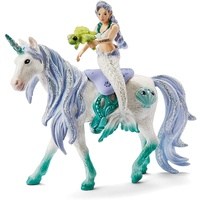 Schleich - Mermaid Riding on Sea Unicorn 42509