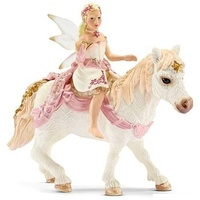 Schleich - Delicate Lily Elf Riding a Pony 70501