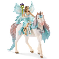 Schleich - Fairy Eyela with Princess Unicorn 70569