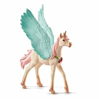 Schleich - Decorated Unicorn Pegasus Foal 70575