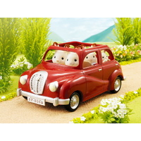 Sylvanian Families - Family Saloon Car (Red)