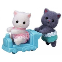 Sylvanian Families - Persian Cat Twins