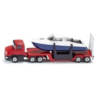 Siku - Low Loader with Boat