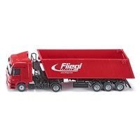 Siku - Lorry with Trough Tipper - 1:50 Scale