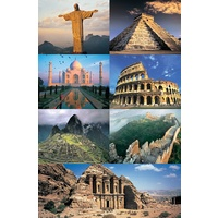 Tomax - New Seven Wonders Of The World Puzzle 1500pc