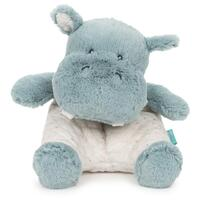 Gund - Oh So Snuggly - Hippo Plush Toy 19cm