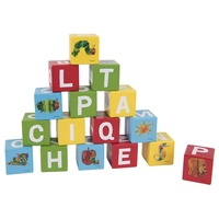 Eric Carle - Very Hungry Caterpillar Wooden Learning Blocks