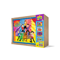 The Wiggles - 4 in 1 Wooden Puzzles