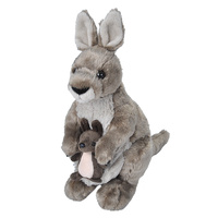 Wild Republic - Cuddlekins Kangaroo with Joey 30cm