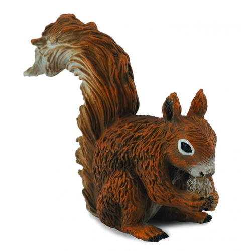 Collecta - Red Squirrel Eating 88467