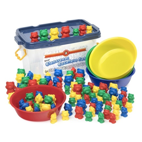Learning Can Be Fun - Counting Bears Classroom Set