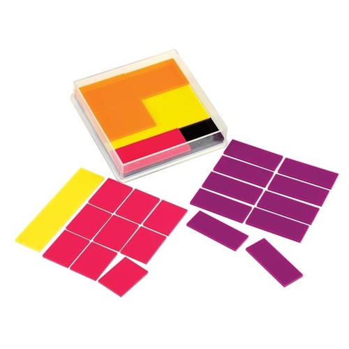 Learning Can Be Fun - Fraction Squares (51 pieces)