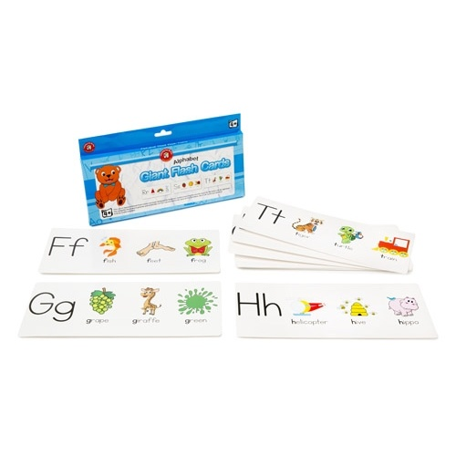 Learning Can Be Fun - Alphabet Giant Flash Cards