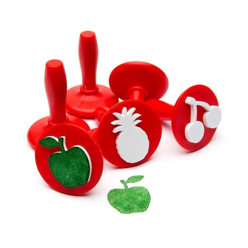 EC - Paint & Dough Stampers Fruit (set of 6)