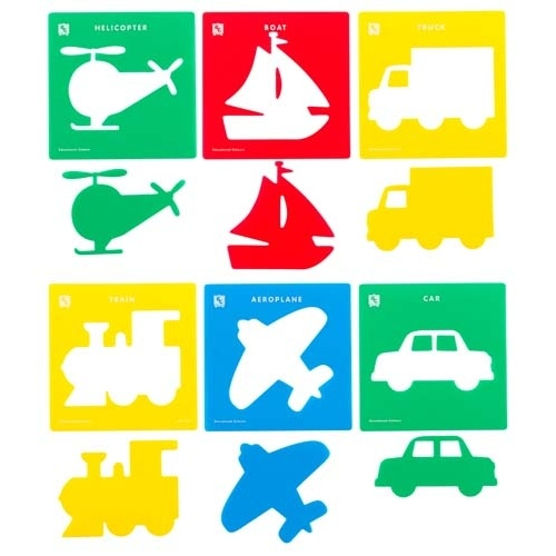 EC - Stencils - Transport (set of 6)
