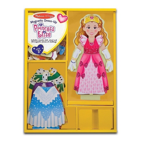 Melissa & Doug - Princess Elise Magnetic Dress-Up