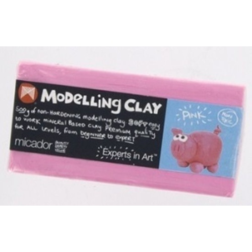 Micador - Modelling Clay 500g - Pink