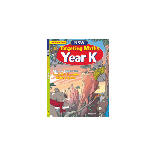 Targeting Maths NSW Year K Student Book New Edition