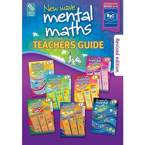 New Wave Mental Maths Teachers Guide Books A-G