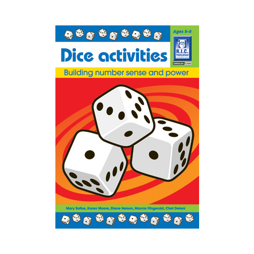 Dice Activities Ages 5-8