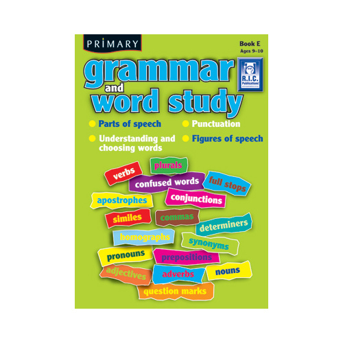 Primary Grammar and Word Study Book E
