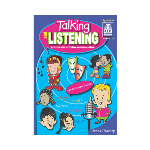 Talking and Listening - Ages 8-10