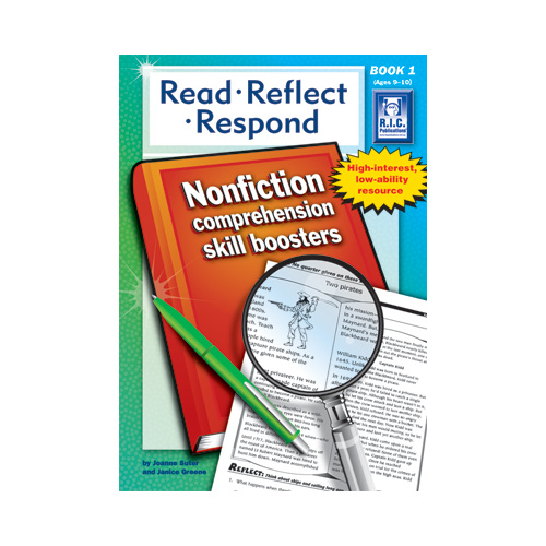 Read, Reflect, Respond Ages 9-10