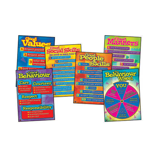 Behaviour Management Chart Pack (6 pack)