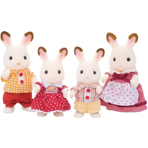 Sylvanian Families - Chocolate Rabbit Family