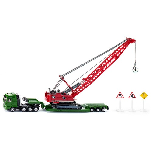Siku - Heavy haulage transporter with Cable Excavator